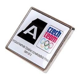 Hlavní obrázek produktu klíčenka alpine badge